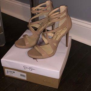 Jessica Simpson Beige Heels